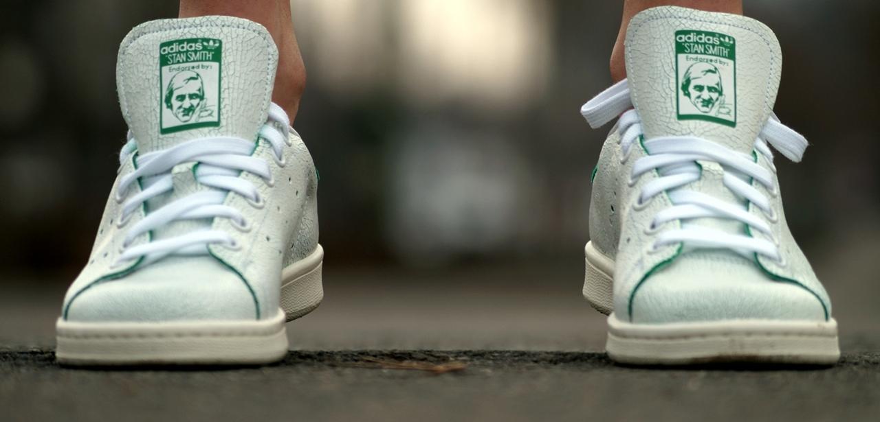 worn stan smiths