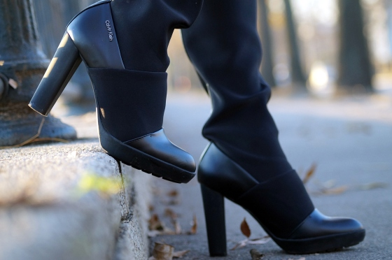 3 calvin klein boots