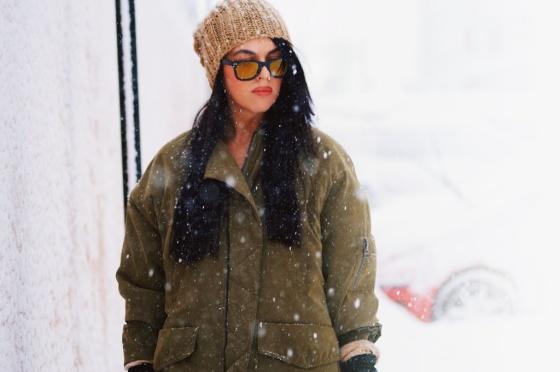 snowing 8