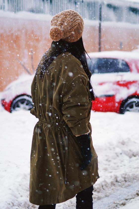 snowing 9