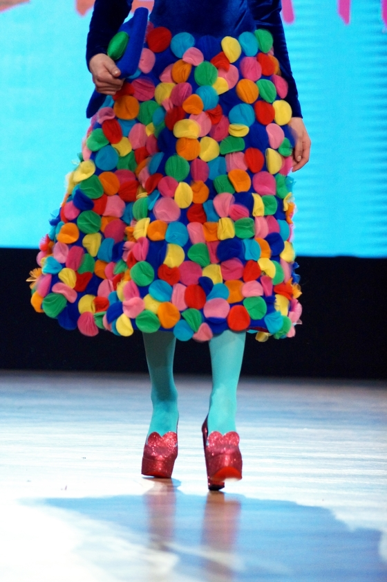 Agatha ruiz de la prada romanian fashion philosophy for Carrelage agatha ruiz dela prada